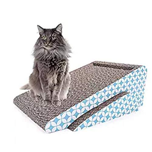 ZYHLL Schaber mit Katze Notizblock, Katzengras Beitrag Lounge Cat Zimmer mit Cat-Panel