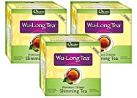 3 Boxes of Wu-Long (Oolong) Premium Slimming Tea - All Natural Diet Oolong Tea , 100% Pure and the Original