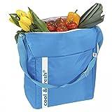 Kühltasche Kühlbox blau cool fresh 26l Liter Einkaufskühltasche Themotasche Isoliertasche