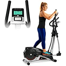 BH FitnessLightFit G2336RF - Bicicleta elíptica - Programas de entrenamiento - Sistema Inercial 10Kg - Zancada
