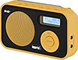 Imperial DABMAN 12 tragbares Digitalradio (DAB+/UKW, LCD Display, Akku, 3x AAA Batteriebetrieb) orange