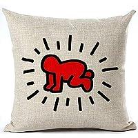 Lenzuola Matrimoniali Keith Haring.Amazon It Keith Tessili Per La Casa Casa E Cucina