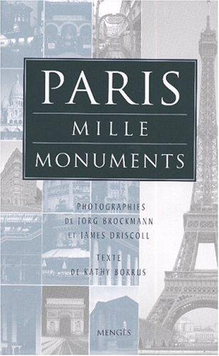 Paris : Mille monuments