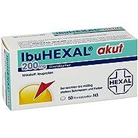 Ibuhexal akut 200 mg Tabletten, 50 St. preisvergleich bei billige-tabletten.eu