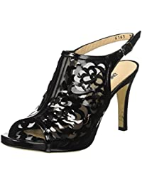 12 Da 8 it Cm Vernice Tacco Nero Donna Sandali Amazon Scarpe qxzwAUYTY