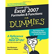 Excel 2007 Formula Function FD (For Dummies)