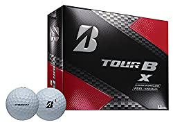 Bridgestone Golf 2018 Tour B X Golf Balls, White (One Dozen)