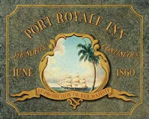 The Poster Corp Catherine Jones – Port Royale Inn Kunstdruck (25,40 x 30,48 cm) -