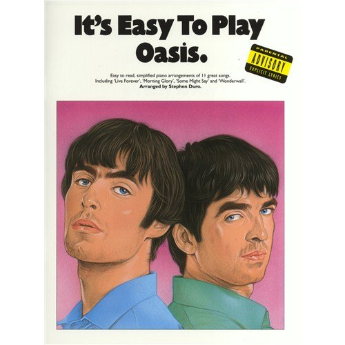 It's Easy To Play Oasis. Partitions pour Piano, Chant et Guitare(Symboles d'Accords)