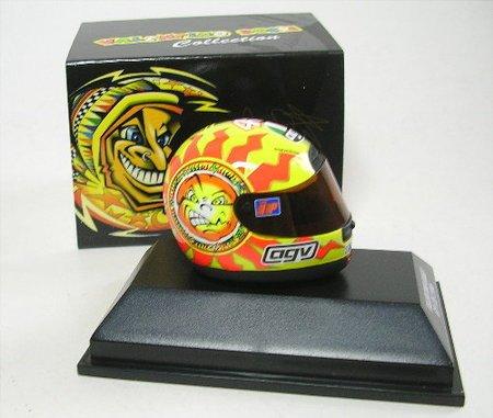 Minichamps 397960046 Casco Agv Valentino Rossi Gp 125 1996 1/8 Valentino Rossi Collection