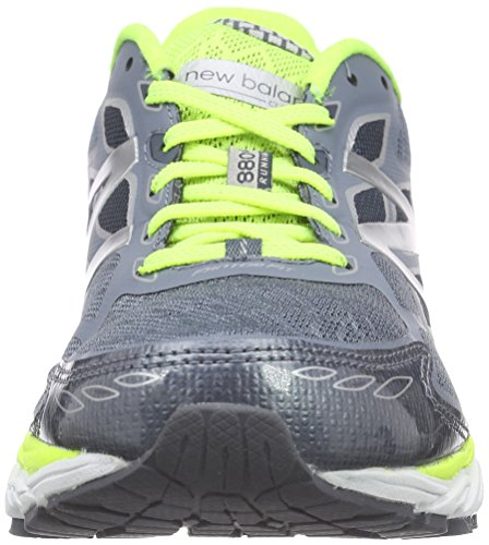 New Balance NBM880BB5 Sneaker, Uomo Grey/Yellow D