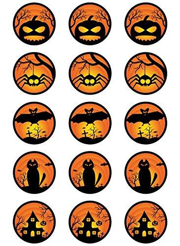 ke Halloween Tortenaufleger Amerikaner HW03 (Einfach, Halloween-kuchen-fondant)