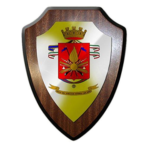 Armoiries Panneau/Plaque murale–Armée de terre italienne 1991–2014Armée Italienne Italie Armée Militaire armoiries insigne emblème Italia # 18212