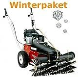 Tielbürger-Barredora TK36Invierno del paquete incluye cepillo de nieve Pala de nieve invierno Neumáticos