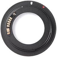 tinxi® Adattatore per lenti M42 Canon EOS con autofocus AF Chip di conferma per Canon EOS 1D 1Ds ecc