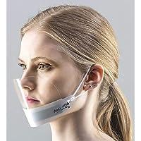 5 x Visier Gesichtsschutz Gesichtsvisier Gesichtsschutzschild Anti-Fog Face Shield KEIN BESCHLAGEN (Weiss)