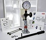 Diesel Einspritzdüse Pop Tester mit 0–400bar/0–6000psi Dual-Skala Gauge