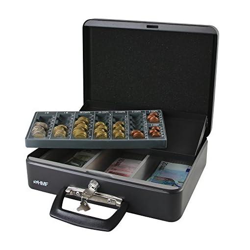 faa3c5f219 HMF 10016-02 Cassetta Portavalori con Vassoio Porta Monete e ...