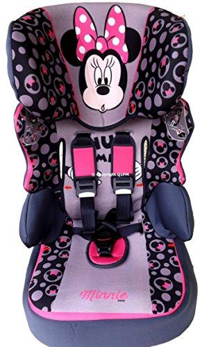 MISS MINNIE Disney Beline SP-SUBLI Kindersitz KINDER AUTOSITZ BABY SITZ GRUPPE 1/2/3 9-36kg