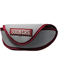 NCAA Oklahoma Sooners Sports Sunglasses Case, Grey