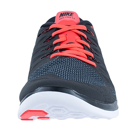 Nike Nike Free 5.0 Flash, Chaussures de running femme Black / Bright Crimson-White
