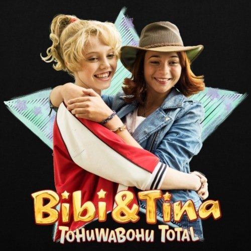 Spreadshirt Bibi E Tina Tohuwabohu Totalmente Fidanzate Borsa Di Stoffa Nera