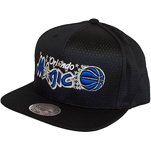 Mitchell & Ness NBA HWC Orlando Magic Snapback Cap (One Size, Black)