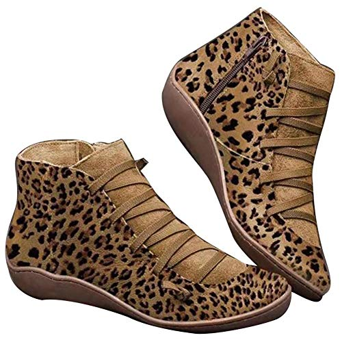strety 2020 Nuevas Botas De Apoyo para Mujeres Arco Hombres Zapatos Británicos De Herramientas De Viento Leopardo Martin Damas De Gran Tamaño De Alta Ayuda Salvaje Cortas Casuales Zapatos