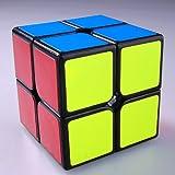 PinShang 2x 2x 2Magic Speed Cube MoYu Lingpo Puzzle Giocattoli Nero