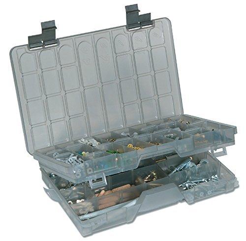 Plano Two-Tier Stowaway 3700 Utility Box, Smoke by Plano Molding (Box Stowaway Utility)