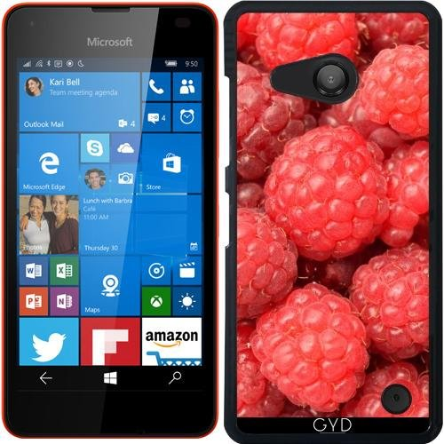Custodia per Microsoft Lumia 550 - Rasberries Frutta Cibo by