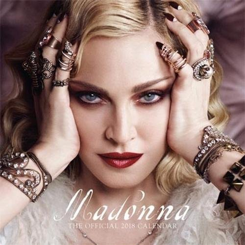 Danilo DAN18145 - Calendario 2018 con diseño Madonna, 30 x 30 cm
