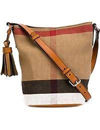 BURBERRY - Bolso al hombro para hombre marrón marrón IT - Marke Größe