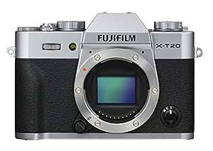 Fujifilm - Appareil Photo - X-T20,24,3Mpix - Argent (Ref: 16542426)