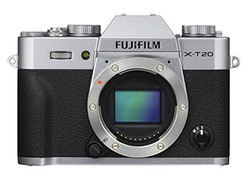Fujifilm X Series X T20 Mirrorless Digital Camera  Silver  Body Only