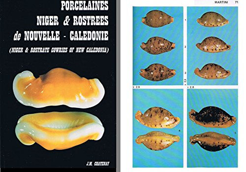 Porcelaines Niger et Rostrees de Nouvelle Caledonie (Niger and Rostrate Cowries of New Caledonia)