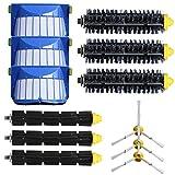 Vovotrade Pratico Kit Filtro 3 armati Spazzola laterale per iRobot Roomba Serie 600 620 630 650 660