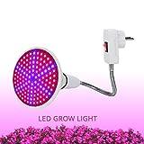 LED Luce Di Crescita Delle Piante 360 Gradi 126 LED Supporto Lampada Flessibile Clip LED Impianto Di Crescita Della Luce Al Coperto O Pianta Tavolo Fito Lampada 1 Set