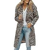 TOPKEAL Jacke Mantel Damen Herbst Winter Sweatshirt Leopard gedruckt Steppjacke Langarm Kapuzenjacke Hoodie Pullover Outwear Coats Tops Mode 2018