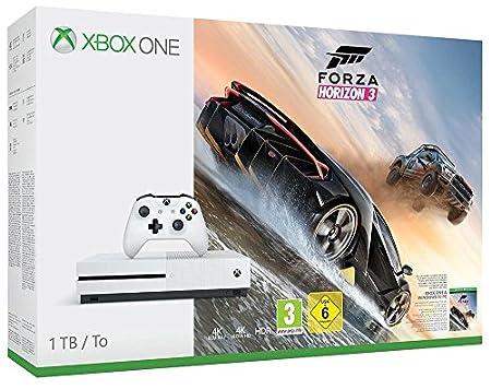 Xbox One S - Consola De 1 TB + Forza Horizon 3