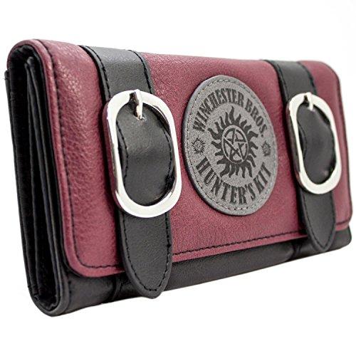 Supernatural Winchester Bros Jäger Kit Rot Portemonnaie Geldbörse