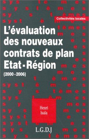 L'valuation des nouveaux contrats de plan tat-rgion,  2000-2006