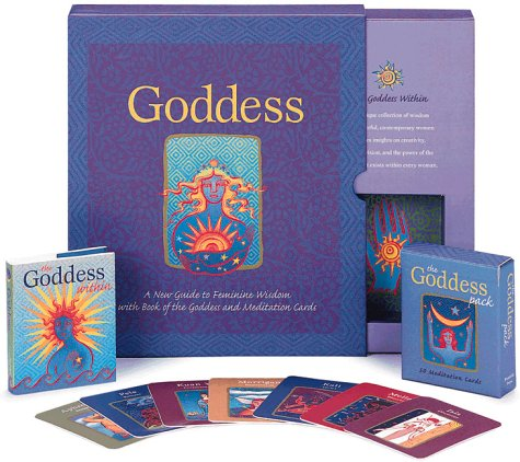 Goddess: Book And Card Deck