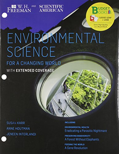 Loose-Leaf Version for Scientific American Environmental Science Expanded & Launchpad 6 Month Access Card