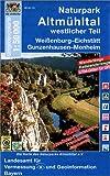 Naturpark Altmühltal westlicher Teil 1 : 50 000: Weißenburg - Eichstätt, Gunzenhausen - Monheim. Wanderwege, Radwanderwege, UTM-Gitter für GPS-Nutzer (UK 50 - 23) - Landesamt für Vermessung und Geoinformation Bayern