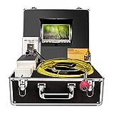 Cámara de inspección de tuberías, Drenaje Alcantarilla endoscopio Industrial anysun PIC20 Impermeable IP68 Serpiente Sistema de Video con 7 Pulgadas Monitor de Cristal 1000TVL Sony CCD cámara