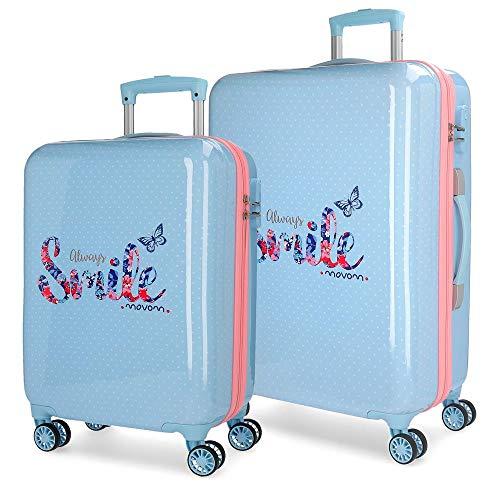 MOVOM Always Smile Juego de maletas