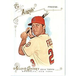 2014 Topps Allen & Ginter Baseball Card # 294 David Freese, Angels