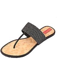 Footrendz Women's Apealing Faux Leather Flats