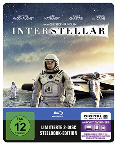 Bild von Interstellar (Steelbook) (exklusiv bei Amazon.de) [Blu-ray] [Limited Edition]
